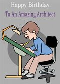Architect - Greeting Card